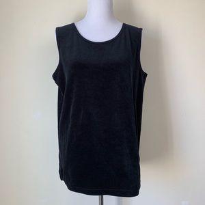 Bob Mackie Wearable Art Velvety Top. Size M